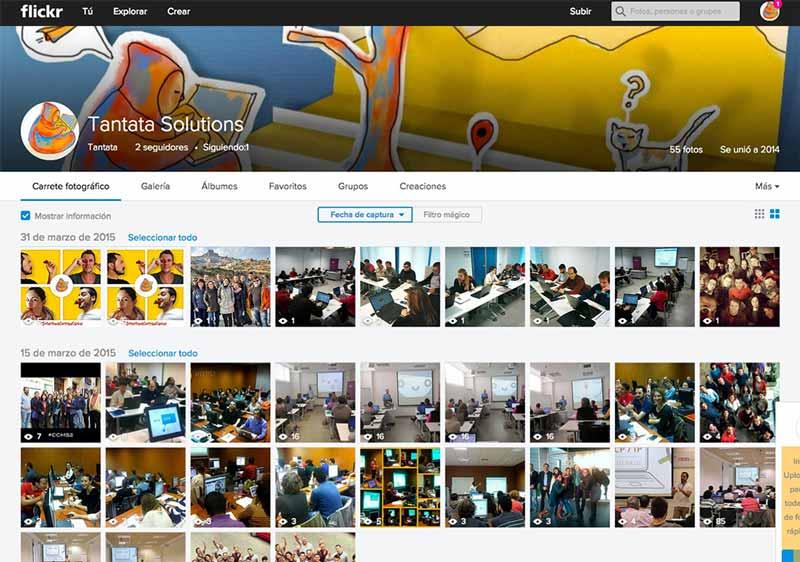 Flickr para empresas