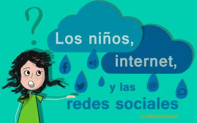 Los niños, internet y las redes sociales