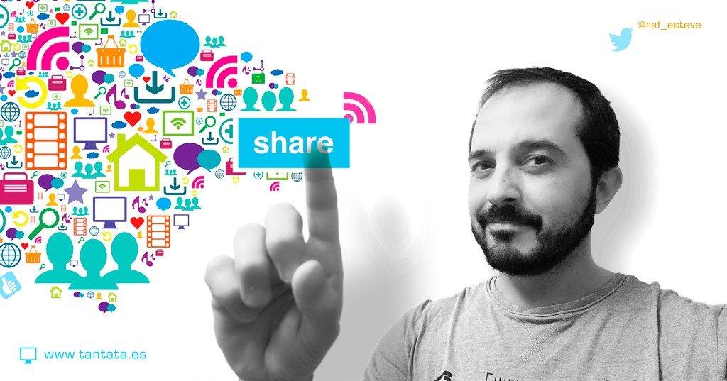 La Magia del Social Sharing - Rafa Esteve