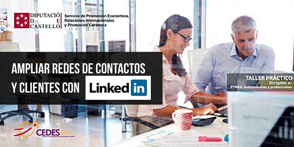 Ampliar Redes de contactos y clientes con Linkedin