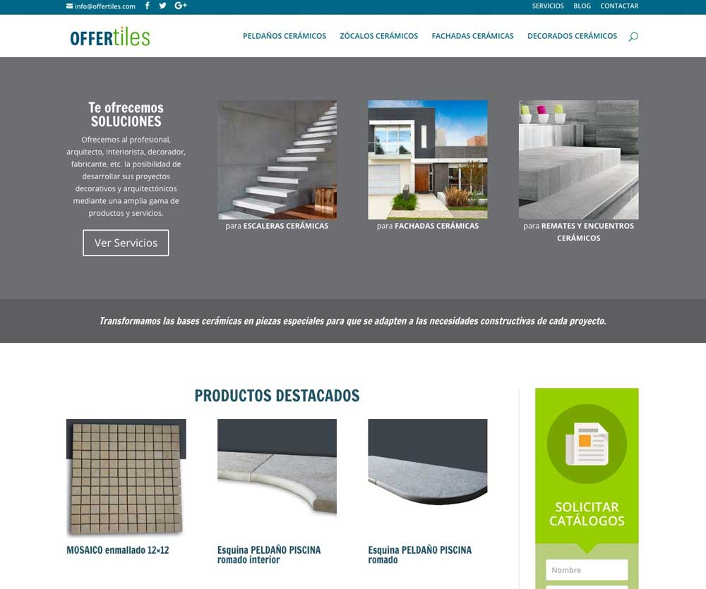 Páginas web para Empresas de Servicios - Tantata Solutions da2fa48ee3354