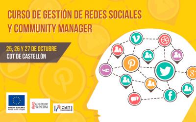 Curso de Gestión de Redes Sociales y Community Manager