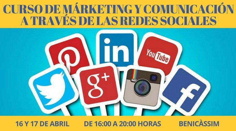 Curso de Márketing y Comunicación a través de Redes Sociales
