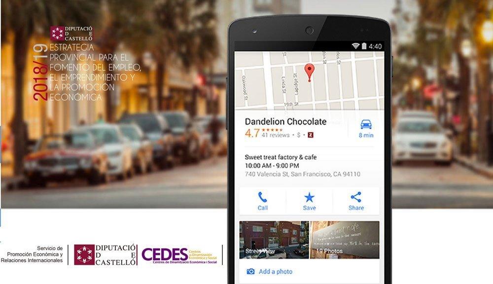 Taller de Google My Business