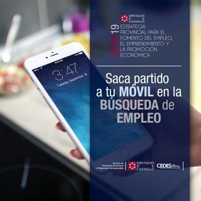 Curso Saca partido a tu móvil en la búsqueda de empleo