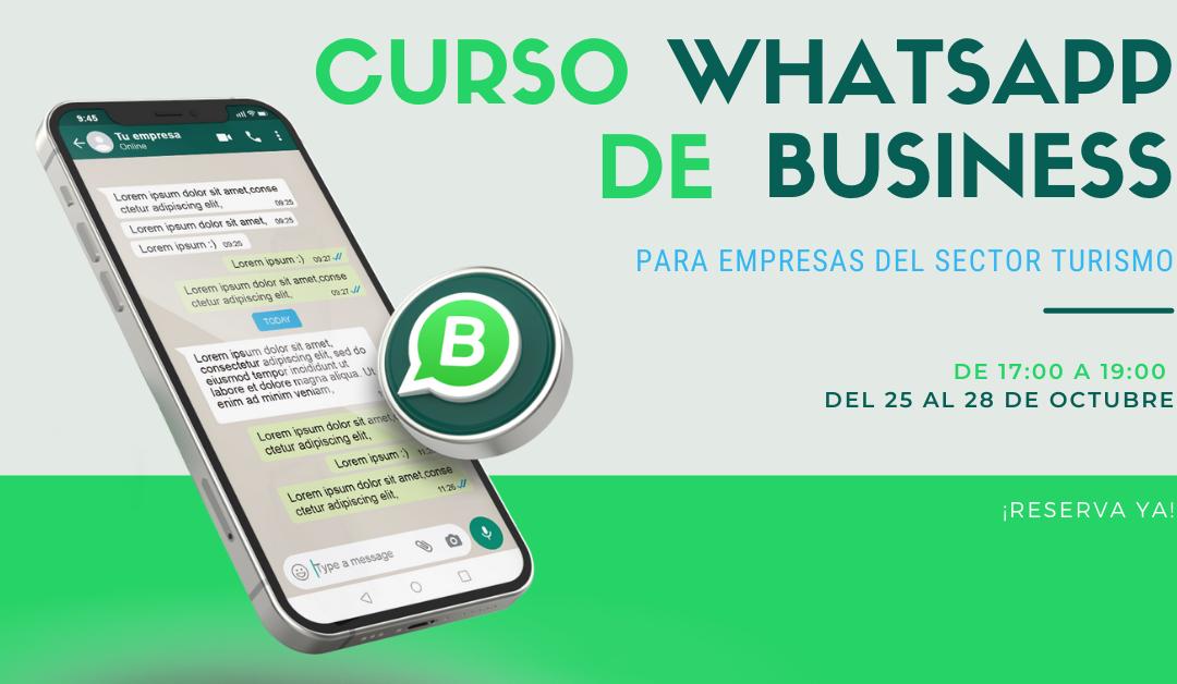 curso whatsapp Business en turismo